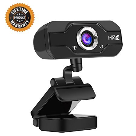 Webcam 720P HD Webcam Skype Camera Wide Angle with Microp...