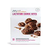 Milkmakers Lactation Cookie Bites, Chocolate Salted Caramel, 10 Count