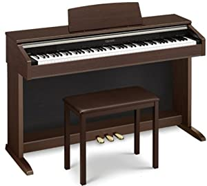 casio ap220 celviano digital piano with bench musical instruments. Black Bedroom Furniture Sets. Home Design Ideas