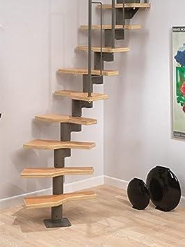 Ahorro de espacio Dolle Graz Modular Kit - escalera - escalera para desván conversiones: Amazon.es: Bricolaje y herramientas