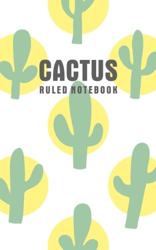 Cactus Ruled Notebook