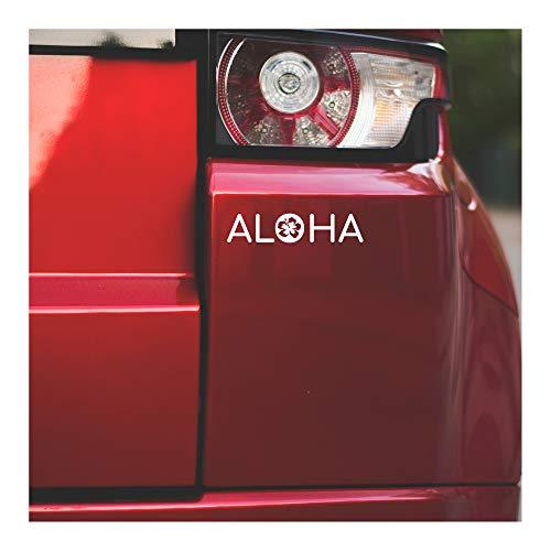 Underground Printing Aloha Hibiscus - Flower Hawaii Nature Vinyl Decal Sticker | 7