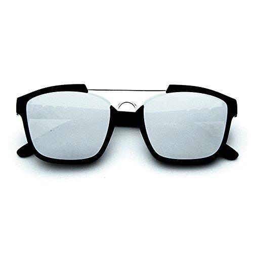 Sol Gris AC hombre Clásicas y de Colocción Smileyes Gafas Mujer Casuales UV400 Lente 2018 Personalizadas Nueva Con para Xq1RTxFB