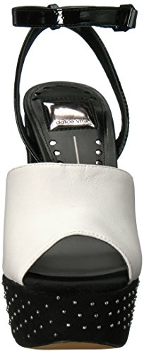 Lisa Lisa Leather Dolce Womens Leather Platform Womens Dolce White Vita Vita Platform Dolce White dXvnXTq