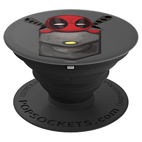 Marvel Deadpool Pocket - PopSockets Grip and Stand for Phones and Tablets by Marvel
