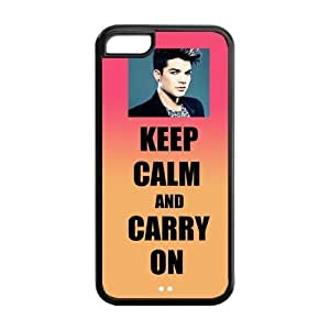 meilz aiaiPop Music Adam Lambert Stylish TPU Protective Case Cover For iphone 4/4s (Black, White)meilz aiai