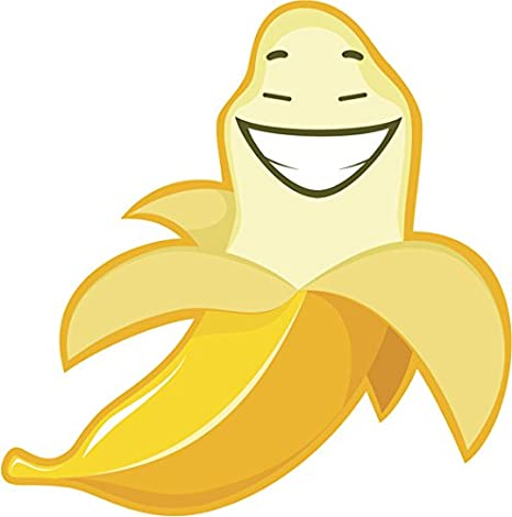 Banana smiley. Amazon com adorable cute