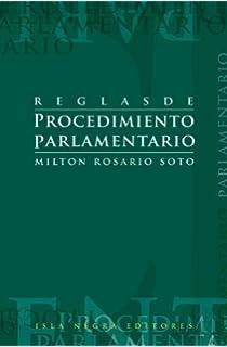 Reglas de procedimiento parlamentario