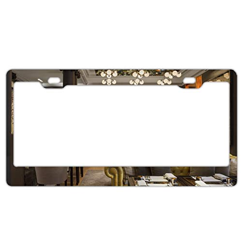 Verna Christopher Rosewood London Hotels of Interior Metal License Plate Frame Car Vehicle Decor (The Hotel Rosewood)