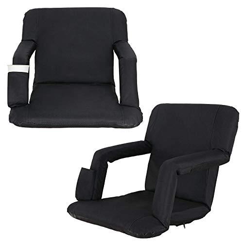 Homgarden Portable Stadium Seat Chair For Bleachers
