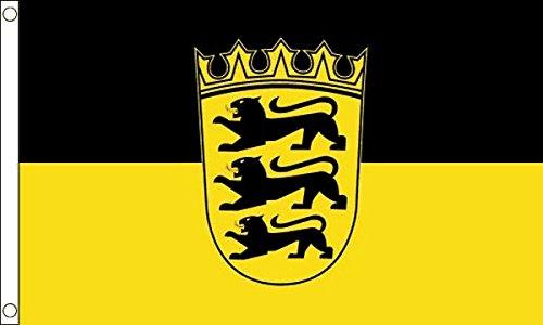 - Baden-WAƒArttemberg Baden-Wrttemberg Flag 5Ft X 3Ft German Germany Deutschland Banner New