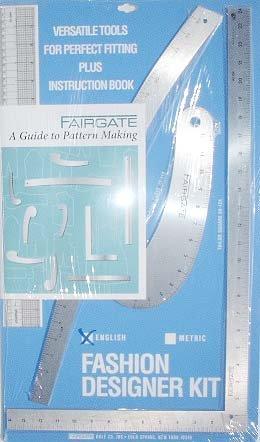 Vogue Fabrics Fairgate Pattern Making Ruler Kit by Vogue Fabrics
