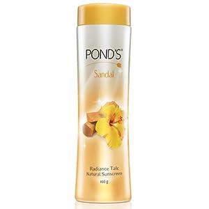 Ponds Sandal Radiance Talc (Pack of 4) 100 g