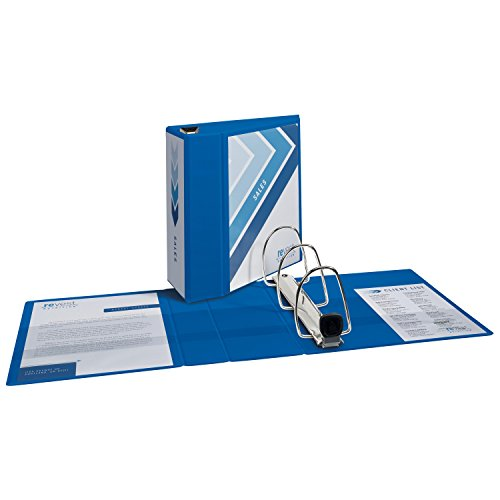 Avery Heavy-Duty Binder with 5 Inch One Touch EZD Ring, Blue, 1 Binder (79886) Photo #2