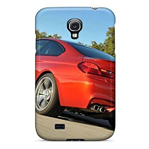Hot Design Premium DLS924KCdw Tpu Cases Covers Galaxy S4 Protection Cases(cars Coupe Bmw M6 2013)