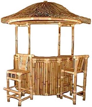fantasie d oriente Mobile Bar Bambu Juego 3 Piezas Muebles jardín: Amazon.es: Jardín