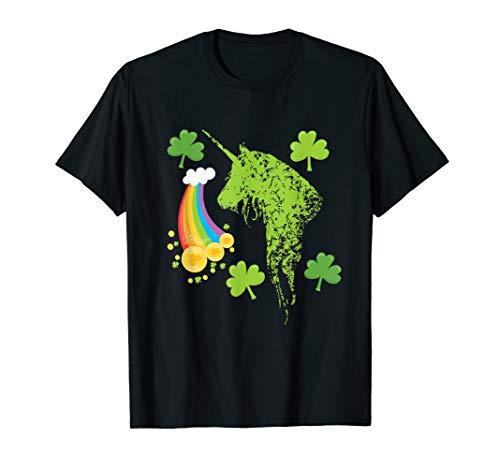 St Patricks Day Stuff Cute Irish Pajamas Unicorn