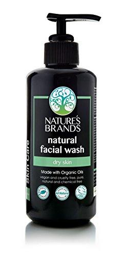 Herbal Choice Mari Natural Facial Wash, Dry Skin; 6.8floz UV Glass, Made with Organic