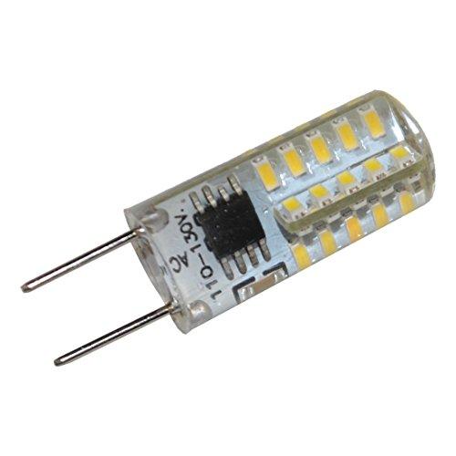 HQRP G8 Bi-Pin 40 LEDs Light Bulb SMD 3014 Cool White for GE