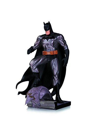 Batman Jim Lee Art (DC Collectibles Batman Metallic Mini Statue by Jim Lee)