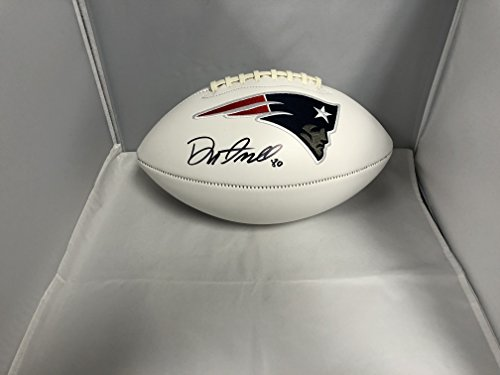Danny Amendola Autographed Signed New England Patriots NFL Logo Football Certified With COA & Hologram