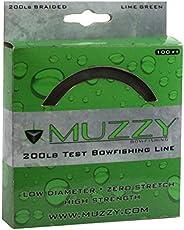 Muzzy Bowfishing Line, Lime Green, 200 lb/100&
