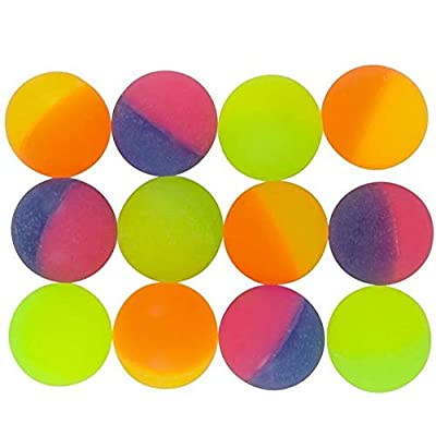 Rhode Island Novelty 32MM 1.2 Inch ICY Hi Bounce Balls, One Dozen per Order: Toys & Games