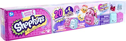 Shopkins ID56182 Season 5 Mega Pack, Set of 20