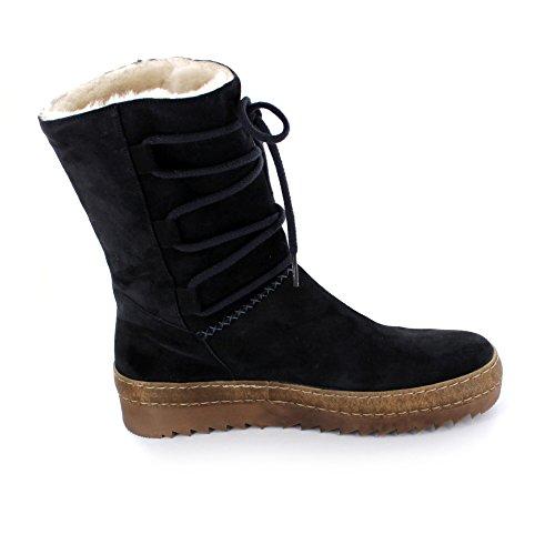 Gabor Furlined Boot Buck 53.743 Azul