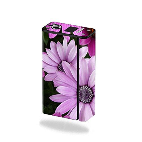 MightySkins Skin for Smok XCube Mini 75W – Purple Flowers | Protective,...