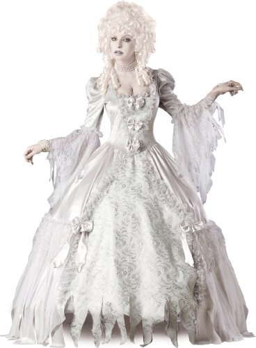InCharacter Costumes Corpse Countess Costume, White, Medium]()