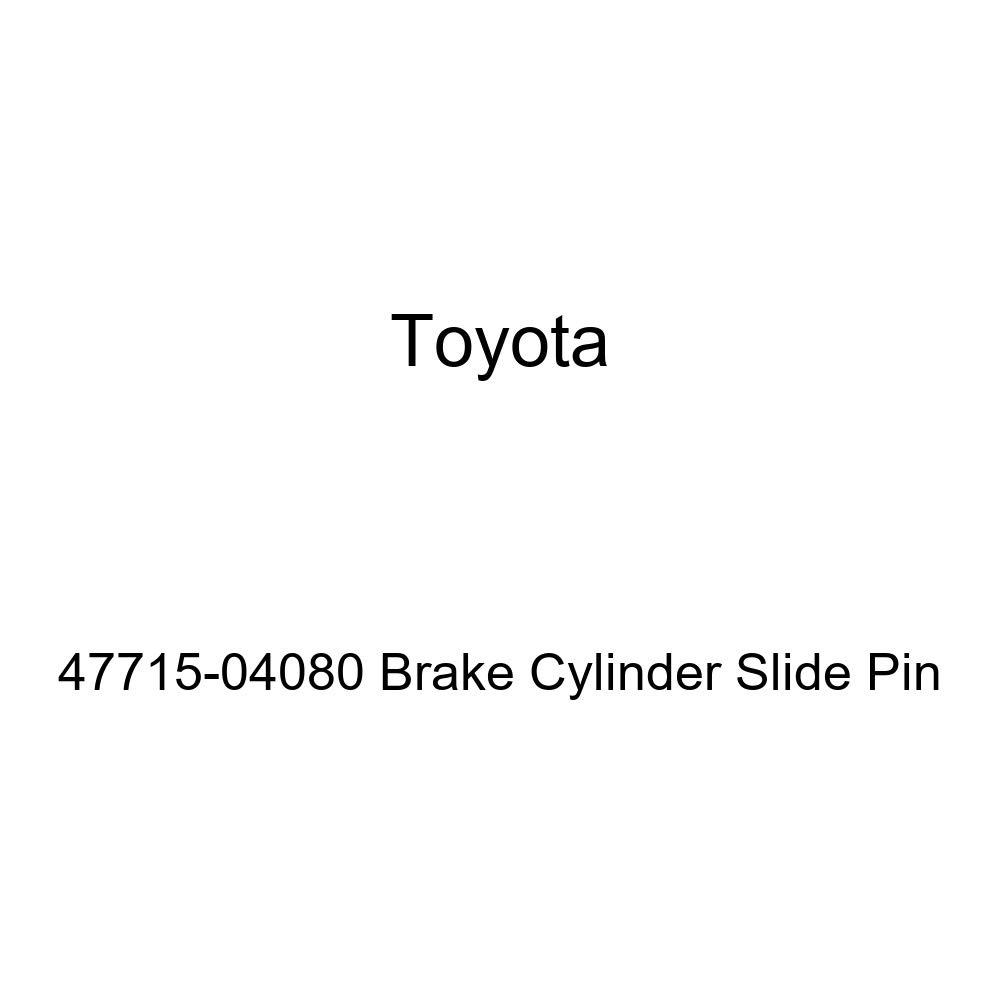 Genuine Toyota 47715-04080 Brake Cylinder Slide Pin
