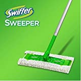 dry broom - Swiffer Sweeper 3 in 1 Mop and Broom Floor Cleaner 1 Sweeper, 9 Dry Sweeping Cloths, 3 Wet Mopping Cloths, and 1 Swiffer Duster