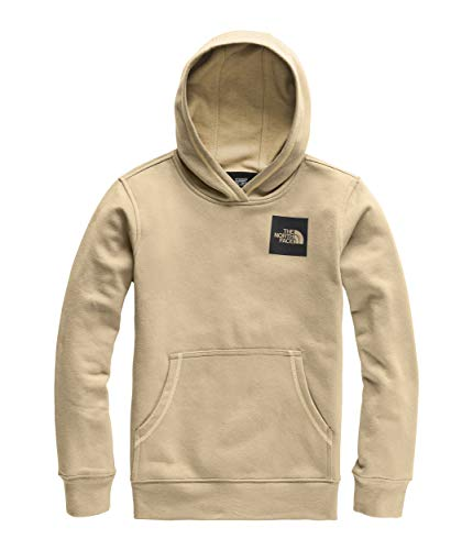 The North Face Kids Boy's Logowear Pullover Hoodie (Little Kids/Big Kids) Kelp Tan Medium