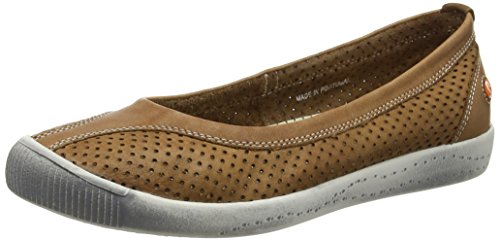 Softinos Womens Iol389Sof Leather Shoes Brown clearance professional cheap sale get authentic free shipping finishline outlet footlocker 4UrFUz0PY