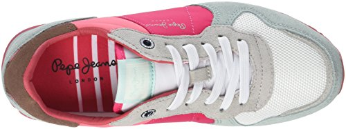 Pepe Jeans Damen Verona W Casidi Sneaker Roze (disco Roze)