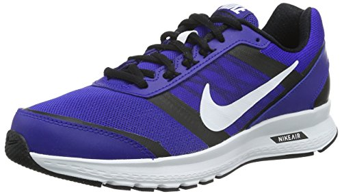 NIKE Blau Herren Air 5 White Relentless black white Laufschuhe Concord 66rZq