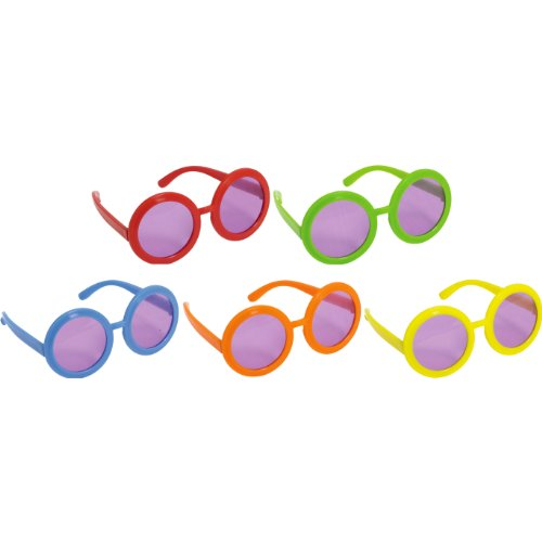 - 60's Party Glasses, 10 Ct.