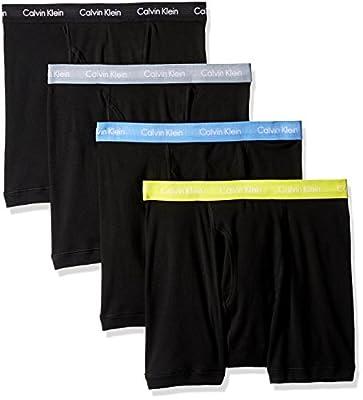 Calvin Klein Men's Underwear 4 Pack Cotton Classics Boxer Briefs