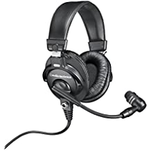 Audio-Technica BPHS1 Broadcast Stereo Headset with Dynamic Cardioid Boom Mic