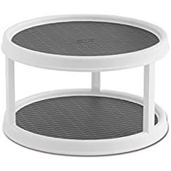 Copco Non-Skid 2-Tier Cabinet Turntable, 12-Inch
