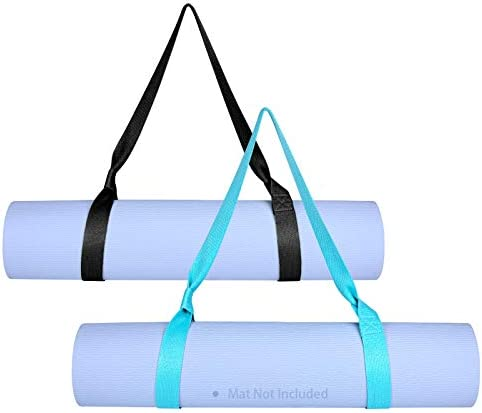 Awpeye Yoga Mat Strap Carrier 2Pack Adjustable Yoga Mat Sling for Carrying (Yoga Mat Not Included)