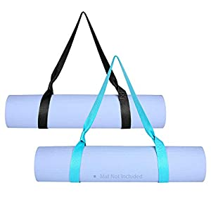 Well-Being-Matters 41iYbVVGhlL._SS300_ Awpeye Yoga Mat Strap Carrier 2Pack Adjustable Yoga Mat Sling for Carrying (Yoga Mat Not Included)