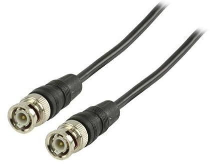 Valueline 2m BNC m/m 2m BNC BNC Negro - Cable coaxial (BNC,