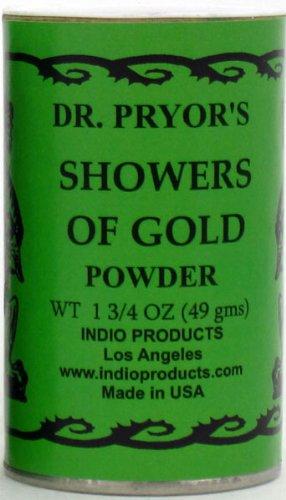 Dr。Pryorのお香パウダーシャワーのゴールド B005UOX7WE