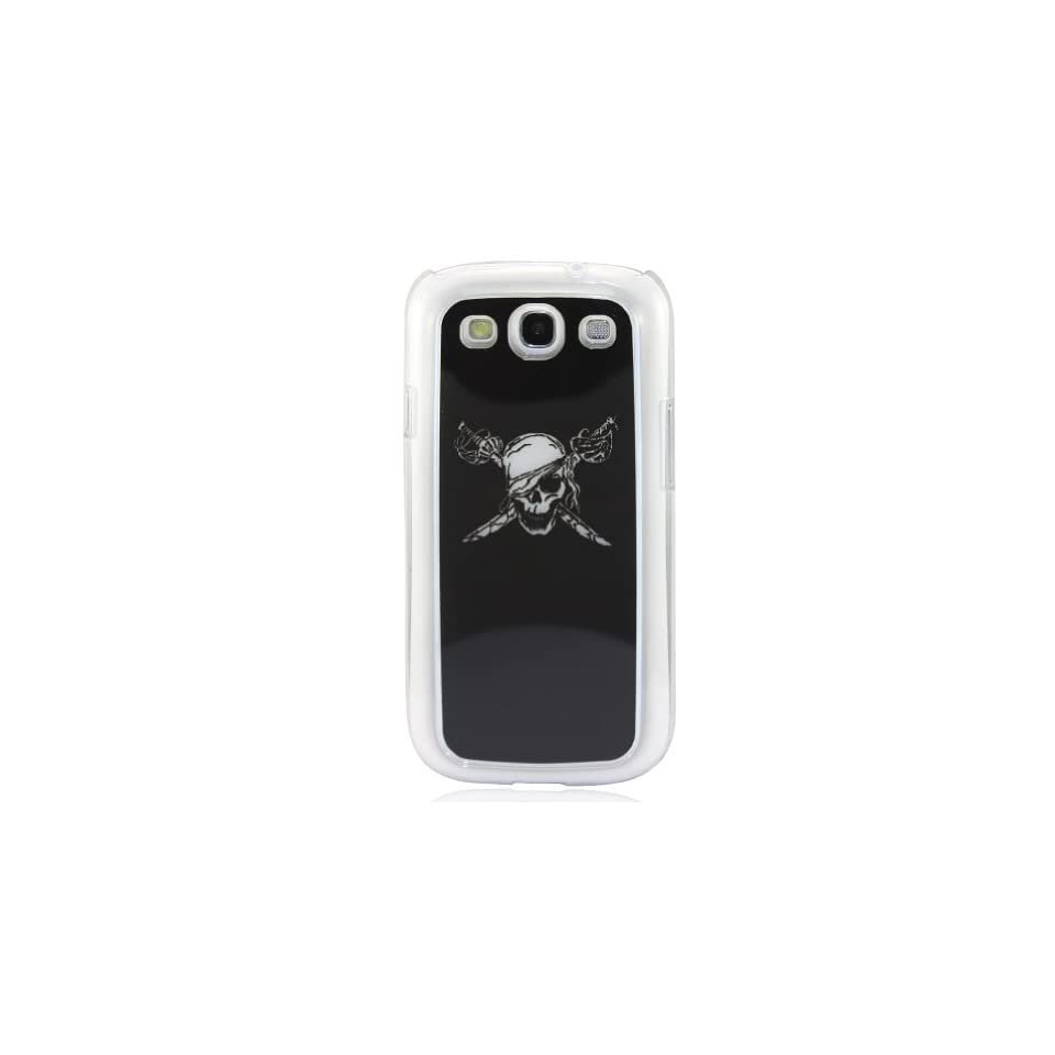 LeexGroup®Cool Skull Skeleton Calling Sense LED Flash Light Up Shell Back Case Cover for Samsung Galaxy i9300 S3 SIII Color Changing