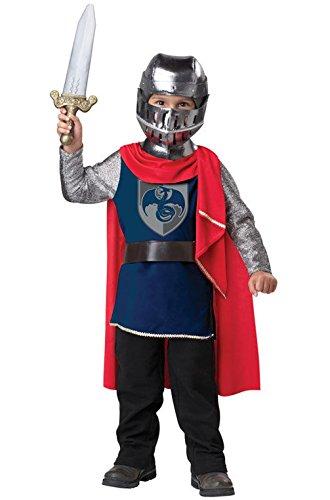 Mememall Fashion Renaissance Gallant Knight Toddler Costume (Princes Leia Costume)