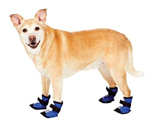 Fashion Pet Blue Essential Dog Boots Large
