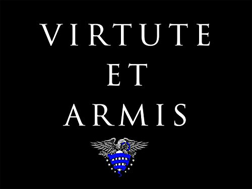 Police Motivation Poster Latin Phrase Virtue & Arms Quote