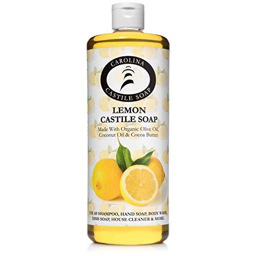 Lemon Castile Soap - Carolina Castile Soap (32 oz)
